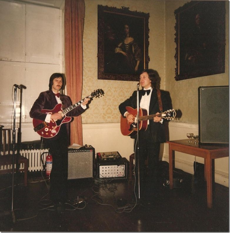 Terry Poole & Stuart Scott Hagley Hall 1979